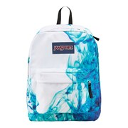 Jansport® Superbreak Multi/Blue Drip Dye Polyester Backpack (T501ZQ1)