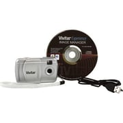 vivitar® 3-IN-1 2 MP Digital Camera Body Only, Silver (V69379)