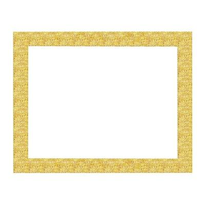 "ArtSkills® Glitter Framed Poster Board, 22"" x 28"", Gold (PA-1968)"