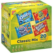 Nabisco Lunch Variety Snack Pack, Single Serve, Classic Mix, 2/Pack (MOND04100)