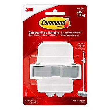 Command™ Broom Gripper, White/Gray, Each (17007-ES)