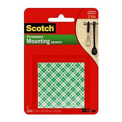 Scotch® Permanent Mounting Square, 2