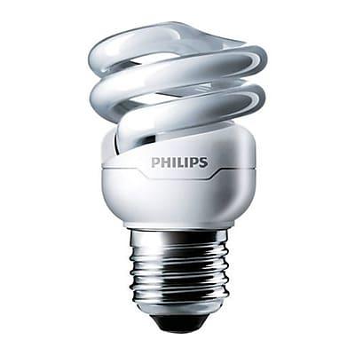 Philips 9 W Warm White A19 Compact Fluorescent Light Bulb (455188)