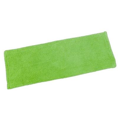 Quickie® 0764M Microfiber Hardwood Floor Mop Refill, Green