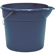 United Solutions Plastic Utility Pail with Handle, 4.5 gal., Blue (PA0013)