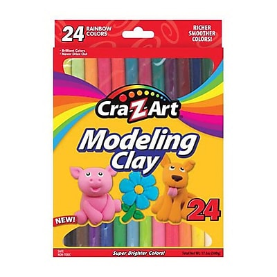 Cra-Z-Art® r10901 Modeling Clay, 17.5 oz., 14/Pack
