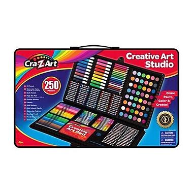 Cra-Z-Art® r11010 250 Piece Creative Art Studio Set