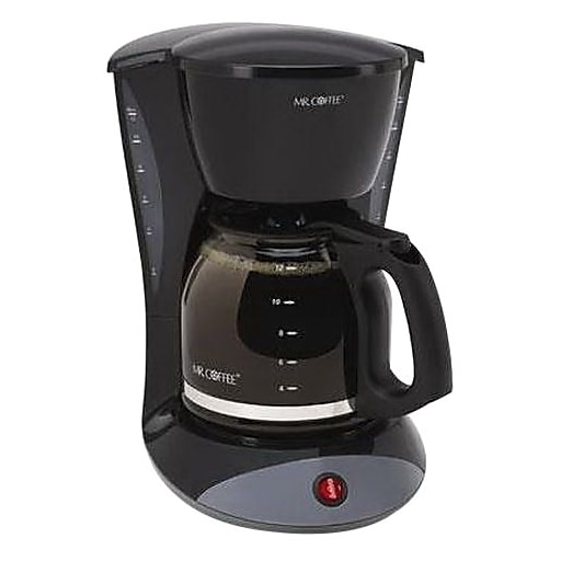 Mr. Coffee® DW13-RB Simple Brew Switch Coffee Maker, 12-Cup, Black