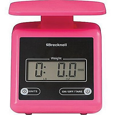 Brecknell Digital Postal Scale, Pink, 7 lbs. (PS7)