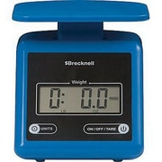 Brecknell Digital Postal Scale, Blue, 7 lbs. (PS7)