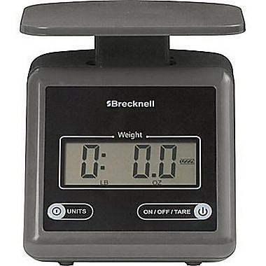 Brecknell Digital Postal Scale, Gray, 7 lbs. (PS 7)