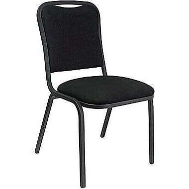 Marco® Steel Frame Fabric Banquet Chair, Black (508-20-246)