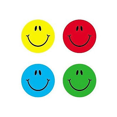 Carson Dellosa™ Smiles Chart Seal, Multicolor, 0.375