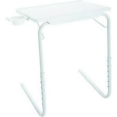 Allstar Table-Mate Folding Table, White (TM011104)