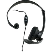 GE® 98999 Universal Stereo Hands-Free All-in-One Headset, Black