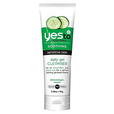 Yes To™ Cucumber Daily Gel Cleanser, 3.38 oz. (3311002)