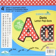 "Barker Creek® 4"" Dots Letter Pop-Out (LL-1702X)"