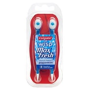 Colgate® Wisp® Peppermint Mini-Brush with Freshening Bead, 4/Pack (CPC 68910)
