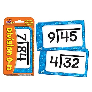 Trend Division Flash Card, 56 cards