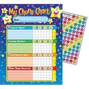 Trend® Stars Chore Chart, Multicolor (T-73106)