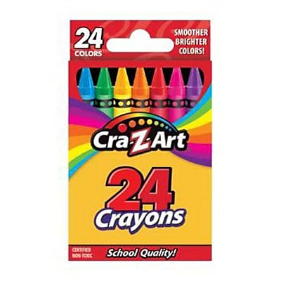 Cra-Z-Art® School Quality Crayon, 24/Pack (r10201)
