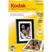 "Kodak Ultra Premium Photo Paper, 4"" x 6"", White (8505141)"