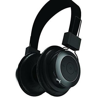 Tzumi 2686ST Bluetooth Stereo On-Ear Headphone, Black
