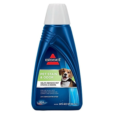 Bissell® 74R7 32 oz. 2X® Pet Stain & Odor Portable Carpet Cleaner Formula