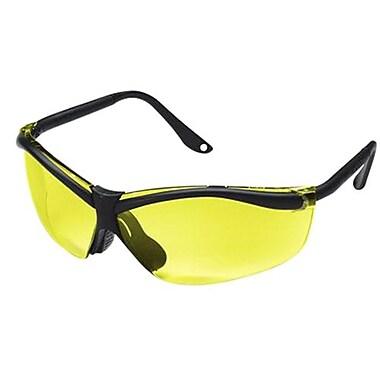 3M™ Sports-Inspired 90966-80025T Black/Yellow Semi-Rimless Safety Eyewear