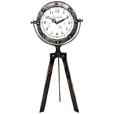 Ashton Sutton Tripod Table Clock, 15
