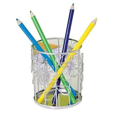 Design Ideas Steel Doodles Pencil Cup 4