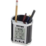 "Victor Electronic Pencil Holder 4"" x 3"" x 3 1/2"", Black (PH500)"