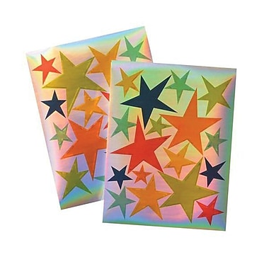 Gartner Star Stickers, Multi Color 32/Carton (73870)
