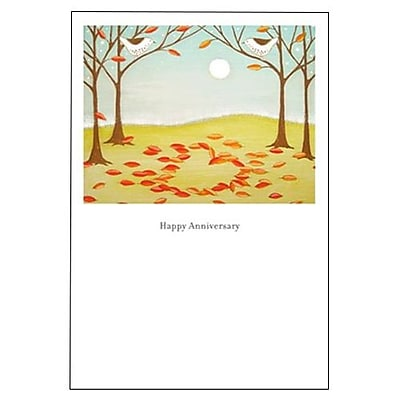 Hallmark Anniversary Greeting Card, May Your Love Grow More Beautiful with Every Year You Share (0395QUA2149)