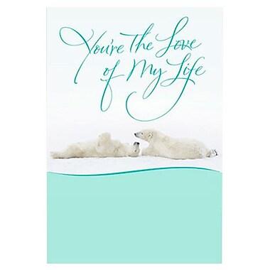 Hallmark Anniversary Greeting Card, You?re the Love of My Life (0395QUA2107)