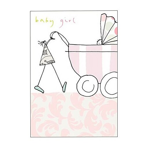 Hallmark Baby Greeting Card, Baby Girl (0295QBA1129)