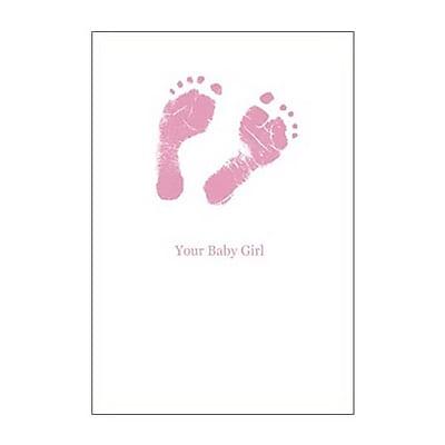 Hallmark Baby Greeting Card, Your Baby Girl (0295QBA1127)