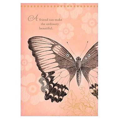 Hallmark Birthday Greeting Card, a Friend Can Make the Ordinary Beautiful (0495QFR1706)
