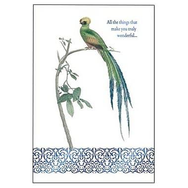 Hallmark Birthday Greeting Card, All the Things that Make You Truly Wonderful (0495QUB2322)