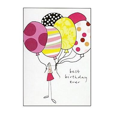 Hallmark Birthday Greeting Card, Best Birthday Ever (0295QUB2280)
