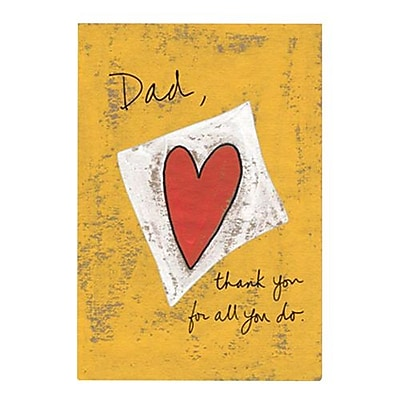 Hallmark Birthday Greeting Card, Dad, Thank You for All You Do (0295QUM4152)