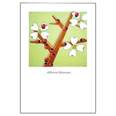 Hallmark Birthday Greeting Card, Different Blossoms (0295QUF3210)