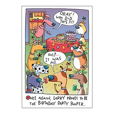Hallmark Birthday Greeting Card, Don't Let Anyone Spoil a Happy Birthday for You (0250QUH3359)
