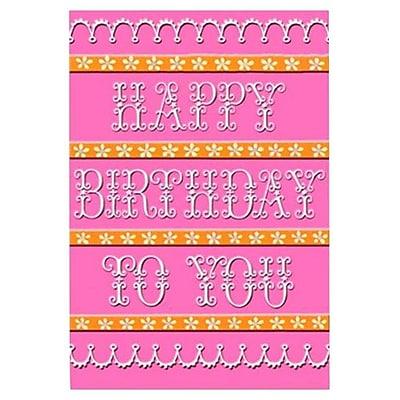 Hallmark Birthday Greeting Card, Happy Birthday to You (0395QUF3213)