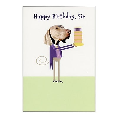 Hallmark Birthday Greeting Card, Happy Birthday, Sir (0250QUM4107)
