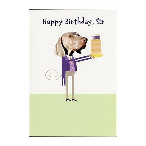 Hallmark Birthday Greeting Card Happy Sir 0250QUM4107