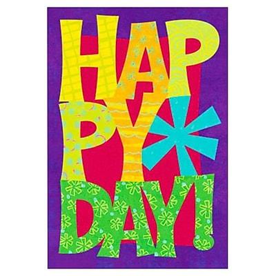 Hallmark Birthday Greeting Card, Happy Day! (0495QUB2320)