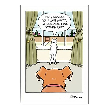 Hallmark Birthday Greeting Card, Hey, Rover, Ya Dumb Mutt, Where are You?Bonehead? (0250QUH3360)
