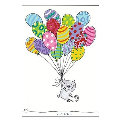 Hallmark Birthday Greeting Card, Hope This is the Happiest Birthday Ever! (0349ZOB5338)
