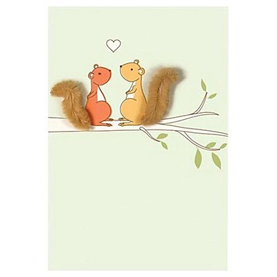 Hallmark Birthday Greeting Card, I'm Nuts About You.Happy Birthday (0495QUF3180)